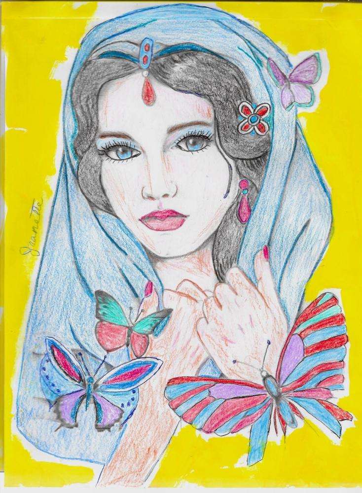 Aishwarya Rai por Jeanette
